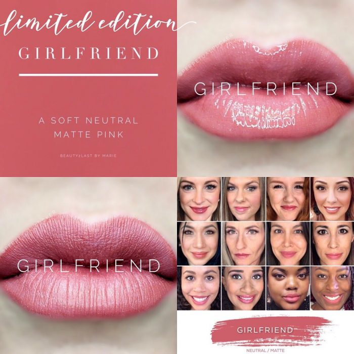 Lipsense Colors featured by top US lifestyle blog and Lipsense distributor, Kaylynn of Among the Young: image of Girlfriend