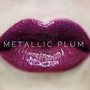 Lipsense Colors featured by top US lifestyle blog and Lipsense distributor, Kaylynn of Among the Young: image of Metallic Plum
