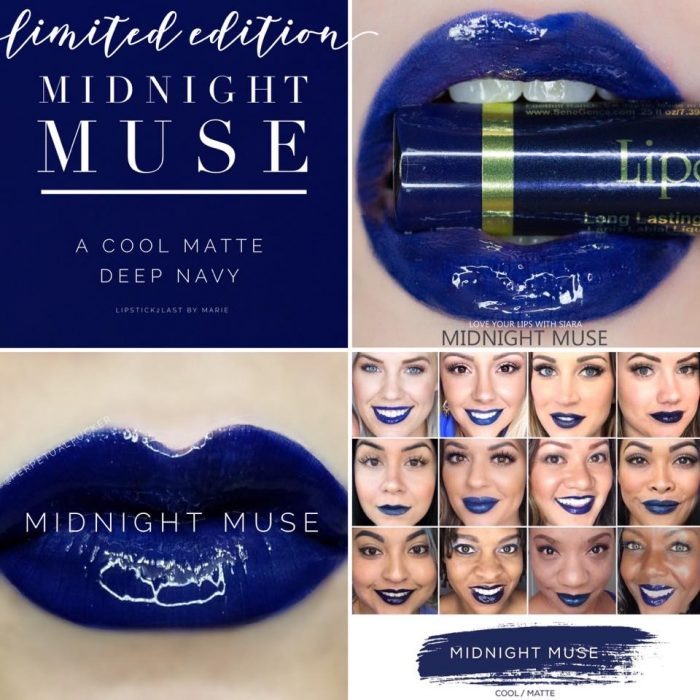 Lipsense Colors featured by top US lifestyle blog and Lipsense distributor, Kaylynn of Among the Young: image of Midnight Muse