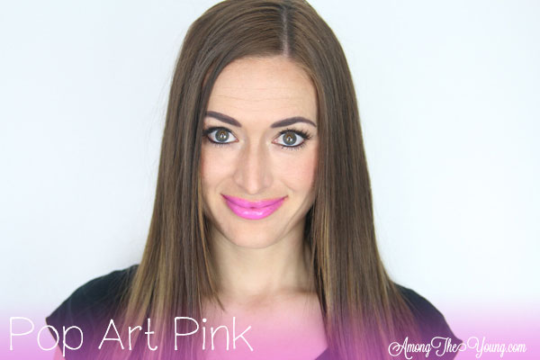 Lipsense Colors featured by top US lifestyle blog and Lipsense distributor, Kaylynn of Among the Young: image of Kaylynn wearing Pop Art Pink
