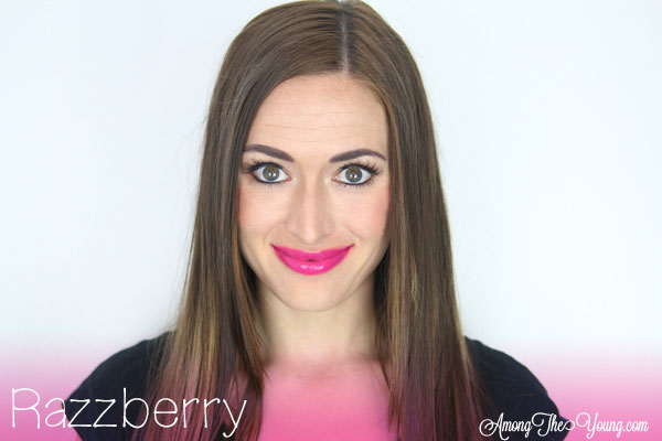 Lipsense Colors featured by top US lifestyle blog and Lipsense distributor, Kaylynn of Among the Young: image of Kaylynn wearing Razzberry