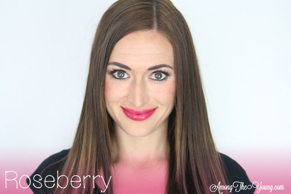 Lipsense Colors featured by top US lifestyle blog and Lipsense distributor, Kaylynn of Among the Young: image of Kaylynn wearing Roseberry