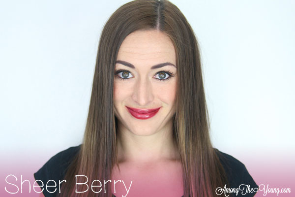 Lipsense Colors featured by top US lifestyle blog and Lipsense distributor, Kaylynn of Among the Young: image of Kaylynn wearing Sheer Berry