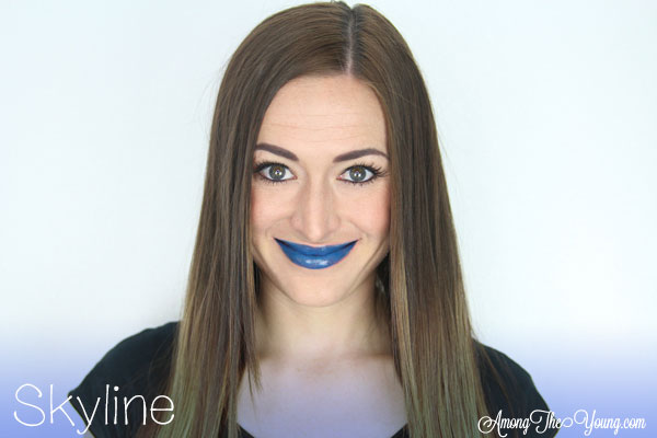 Lipsense Colors featured by top US lifestyle blog and Lipsense distributor, Kaylynn of Among the Young: image of Kaylynn wearing Skyline