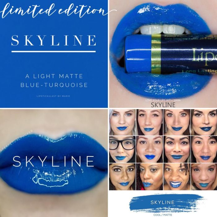 Lipsense Colors featured by top US lifestyle blog and Lipsense distributor, Kaylynn of Among the Young: image of Skyline