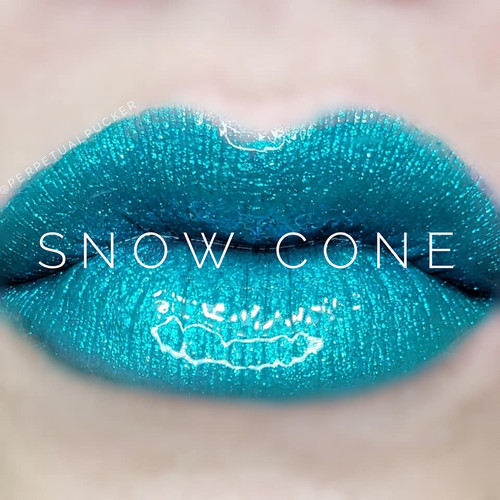 Lipsense Colors featured by top US lifestyle blog and Lipsense distributor, Kaylynn of Among the Young: image of Snow Cone