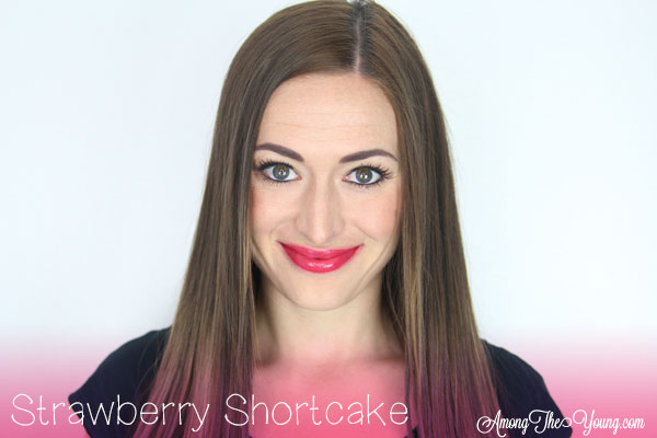 Lipsense Colors featured by top US lifestyle blog and Lipsense distributor, Kaylynn of Among the Young: image of Kaylynn wearing Strawberry Shortcake