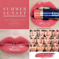 Lipsense Colors featured by top US lifestyle blog and Lipsense distributor, Kaylynn of Among the Young: image of Summer Sunset