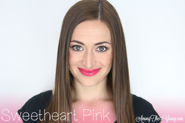 Lipsense Colors featured by top US lifestyle blog and Lipsense distributor, Kaylynn of Among the Young: image of Kaylynn wearing Sweetheart Pink