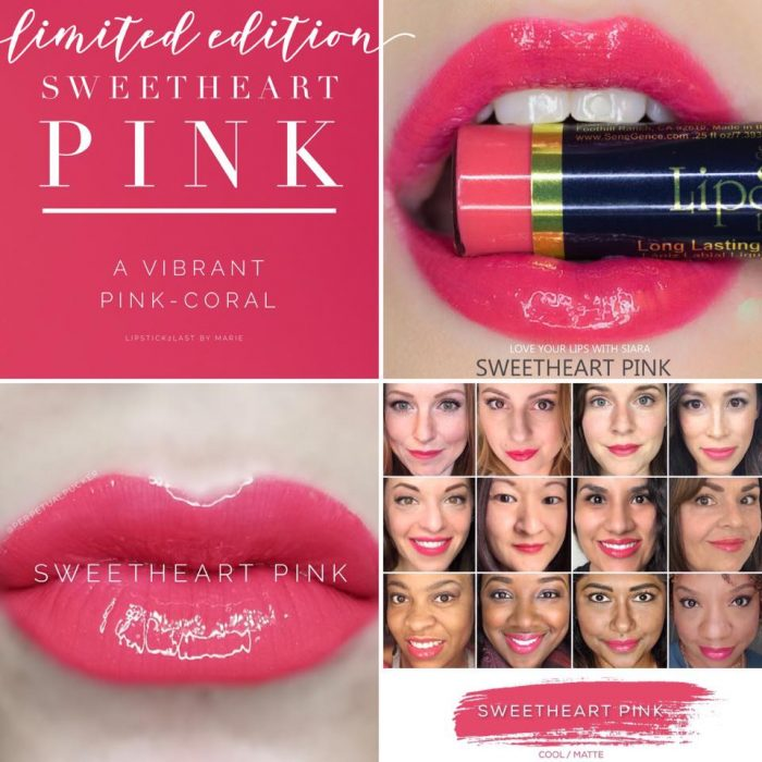 Lipsense Colors featured by top US lifestyle blog and Lipsense distributor, Kaylynn of Among the Young: image of Sweetheart Pink