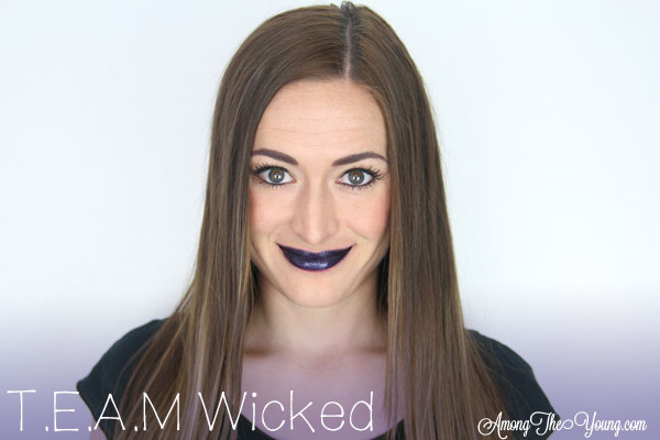 Lipsense Colors featured by top US lifestyle blog and Lipsense distributor, Kaylynn of Among the Young: image of Kaylynn wearing TEAM Wicked