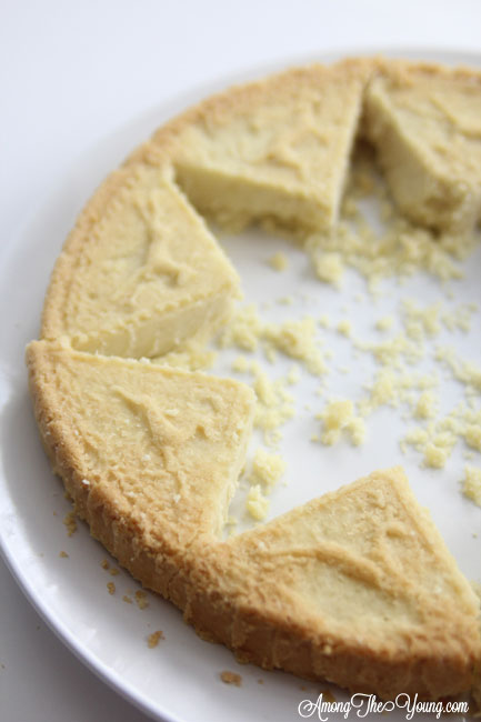 The Best Scottish Shortbread recipe featured by top Utah Foodie Among the Young: image of scottish shortbread recipe cut out | Traditional Scottish Shortbread Recipe for the Holidays by popular Utah food blog, Among the Young; image of Scottish shortbread.