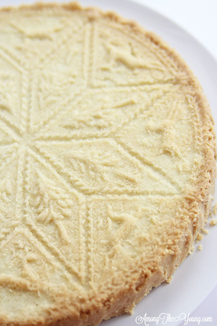 The Best Scottish Shortbread recipe featured by top Utah Foodie Among the Young: image of scottish shortbread recipe full | Traditional Scottish Shortbread Recipe for the Holidays by popular Utah food blog, Among the Young; image of Scottish shortbread.