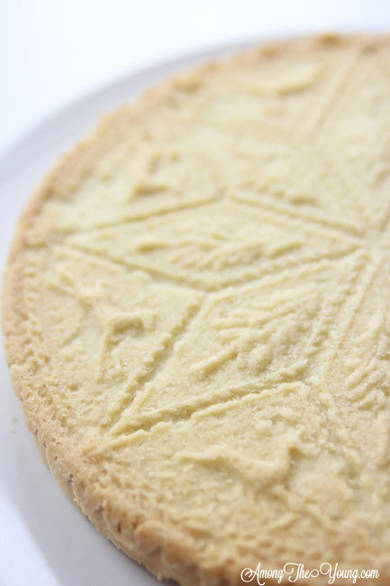 The Best Scottish Shortbread recipe featured by top Utah Foodie Among the Young: image of scottish shortbread recipe full circle | Traditional Scottish Shortbread Recipe for the Holidays by popular Utah food blog, Among the Young; image of Scottish shortbread.