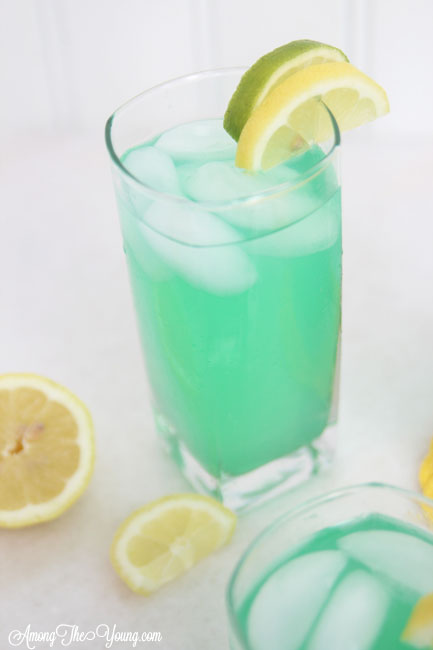 "alt=""The best Disneyland Mint Julep copycat recipe featured by top Utah Foodie blog, Among the Young: image of mint julep with lemon and lime 