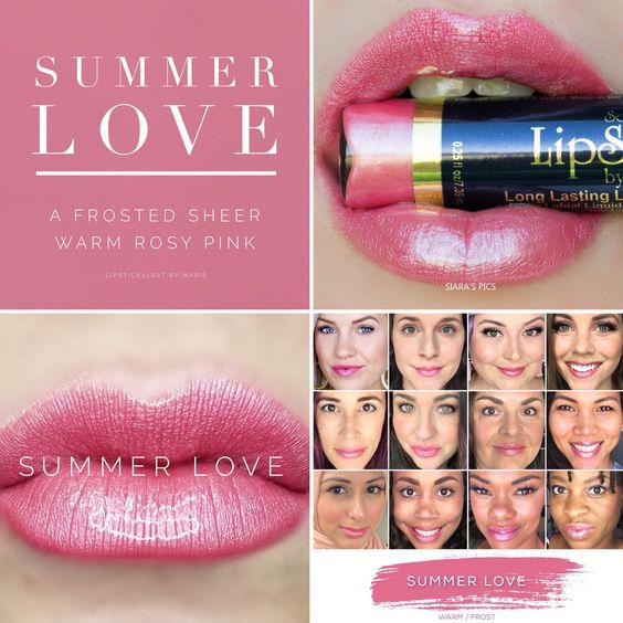 The best summer Lipsense colors featured by top Utah Lifestyle blog Among the Young: image of Summer Love   Lipsense Colors by popular Utah beauty blog, Among the Young: Pinterest image of Summer Love Lipsense.